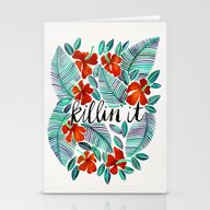 Killin' It – Tropical … Stationery Cards
