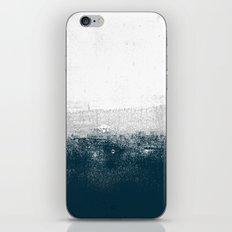 Ocean No. 1 - Minimal ocean sea ombre design  iPhone & iPod Skin