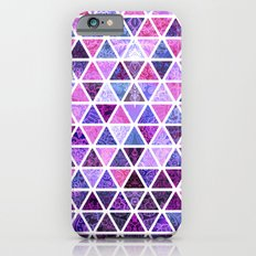 Berry Purples - Triangle Patchwork Pattern Slim Case iPhone 6s