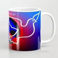 nuclear peace. Mug
