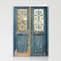 Door, Athens Stationery Cards