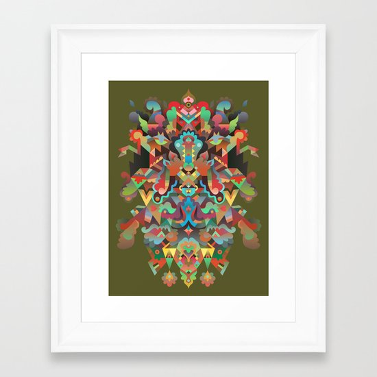 Your Dæmon Framed Art Print