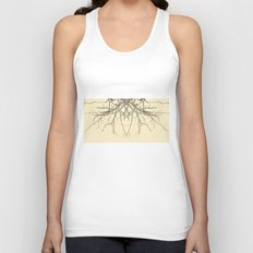 branches#04 Unisex Tank Top