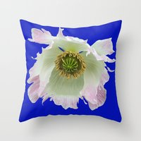 Summer pop eye Throw Pillow