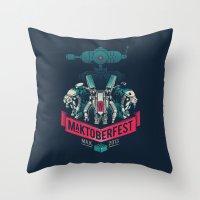 MaKtoberfest 13 Throw Pillow