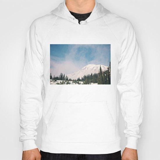 Mount Rainier in the Winter Hoody