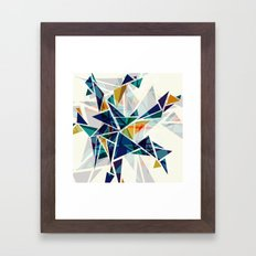 Cracked I Framed Art Print