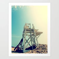 End of Summer Nostalgia II Art Print