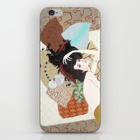 I's drown in burgundy for you iPhone & iPod Skin