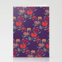 Recolour Peonies Stationery Cards