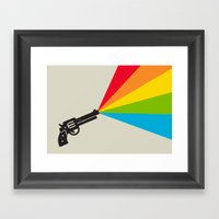 Colour Explosion Framed Art Print