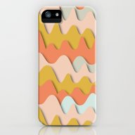 iPhone & iPod Case featuring Colorful Waves by Akwaflorell