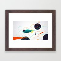 Fishing Hole Framed Art Print