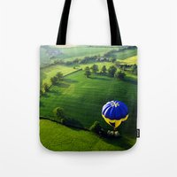 Above The Shires Tote Bag