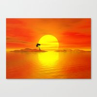 Island Of The Sun Canvas Print