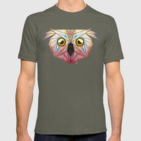 little owl Mens Fitted Tee Lieutenant SMALL