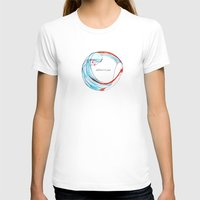 AbbraccioMi // Hugging M… Womens Fitted Tee White SMALL