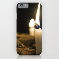 iPhone & iPod Case featuring Candle in the Wind by Julian Clune