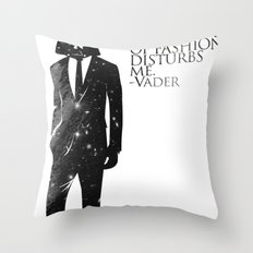 the lord of fashion Throw Pillow