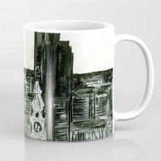 Black and White Philly Skyline Mug