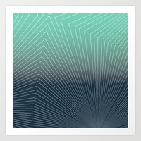 Projection Geox Art Print