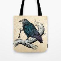Raven's Key Tote Bag