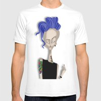 Mrs Ink Mens Fitted Tee White SMALL