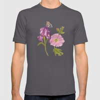 Botanical Mens Fitted Tee Asphalt SMALL