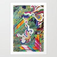 Psychedelic Emporium Art Print