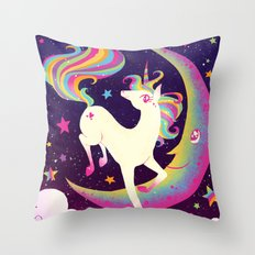 Let's Be Frank About Uni… Throw Pillow