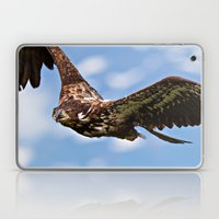 Flying Immature Bald Eag… Laptop & iPad Skin