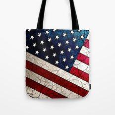 Stars & Stripes - Distre… Tote Bag