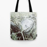 First Frost Of Winter Tote Bag
