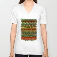 Inspired Aztec Pattern 3 Unisex V-Neck