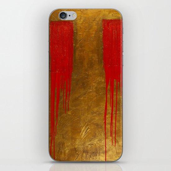 Bleeding Bronze iPhone & iPod Skin