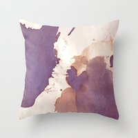 Drugging Ink's Throw Pillow