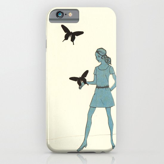 Catching Butterflies iPhone & iPod Case