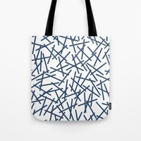 Kerplunk Repeat Navy On … Tote Bag