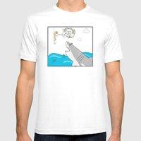 Mr. Shark Insurance Brok… Mens Fitted Tee White SMALL