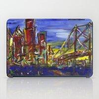 Philly Skyline with Ben Franklin Bridge iPad Case