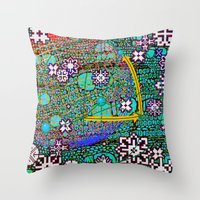 Wintermute Throw Pillow