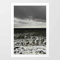 all at sea... Art Print