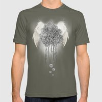 Angel Of The Chaos Mens Fitted Tee Lieutenant SMALL