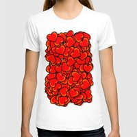 hearts T-shirts featuring Heart by 10813 Apparel