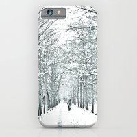 iPhone & iPod Case featuring winter symphony by Arevik Martirosyan