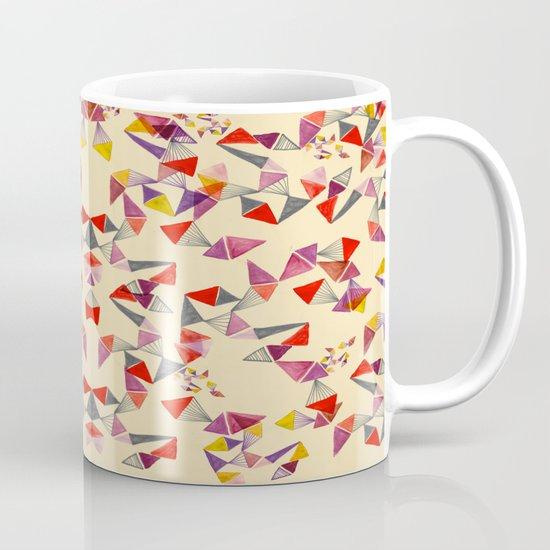 watercolour geometric shapes Mug