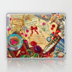 Vintage Love Letters Laptop & iPad Skin