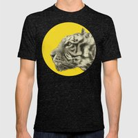 Wild 4 by Eric Fan & Garima Dhawan Mens Fitted Tee Tri-Black SMALL