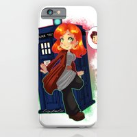 iPhone & iPod Case featuring Doctor Donna  by Lucy Fidelis