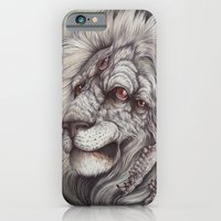 iPhone & iPod Case featuring the Nemean Lion by Caitlin Hackett